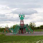 別名カマキリ公園『荒川彩湖公園』の大型遊具がすばらしい!